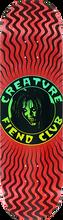 Creature - Fiend Club Deck-8.5 Red - Skateboard Deck
