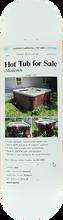 Skate Mental - Mental Hot Tub For Sale Deck-8.62 - Skateboard Deck