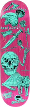 Santa Cruz - Dressen Ingredients Deck-8.5 Pink/teal - Skateboard Deck