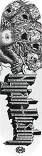 Element - Nyjah Lion Array Deck-8.0 Wht/blk - Skateboard Deck