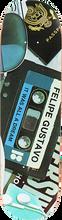 Plan B - B Felipe Mix Tape Deck-8.12 Black Ice - Skateboard Deck