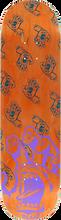 Santa Cruz - Johnson Multihand Deck-8.25 Nat/teal/pur - Skateboard Deck