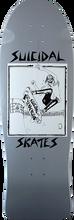 Suicidal - Pool Skater Reissue Deck-10x30.2 Grey - Skateboard Deck