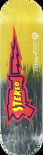 Stereo - Raygun 4000 Deck-8.0 Blk/yel Fade - Skateboard Deck