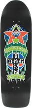 Dogtown - Red Dog Triplane Pool Deck-8.87x32.5 Black - Skateboard Deck