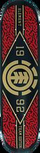 Element - River Camo Twig Deck-7.6 Blk/red/gold - Skateboard Deck