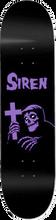 Siren - Rom Six Deck-8.25 Blk/pur Ppp - Skateboard Deck
