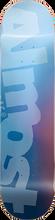 Almost - Side Pipe Blurry Deck-8.5 Blu/blue Ppp - Skateboard Deck