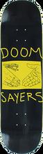 Doom Sayers - Sayers Snake Shake Deck-8.28 Blk/yel - Skateboard Deck