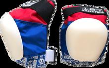 187 - Pro Knee Pads L-red/wht/blu