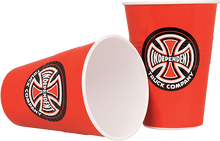 Independent - Banner Cup Set Red/wht