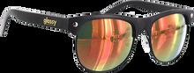 Glassy Sunhaters - Shredder Matte Blk/red Mirror Sunglasses