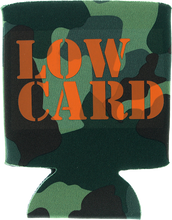 Lowcard - Stacked Camo Coozie Grn Camo