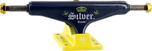 Silver - M-class 8.0 Lager Blue/gold (Skateboard Trucks - Pair)