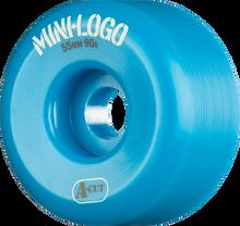 Mini Logo - A-cut Hybrid 55mm 90a Blue Ppp (Skateboard Wheels - Set of 4)
