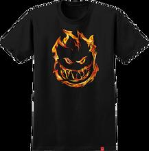 Spitfire - 451 Yth Ss L-black - Youth Tshirt