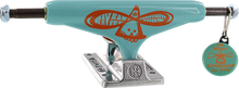 Independent - Barbee Std 139mm Hollow Teal/org/sil - Skateboard Trucks (Pair)