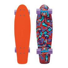 """Penny Skateboard - Spike 27"""" Penny Fresh Print- Nickel Board"""