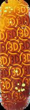 3d Skateboards - Logo Spray I Deck - 8.12 Org - Skateboard Deck