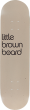 3d Skateboards - Brown Board Little Deck - 8.0 - Skateboard Deck