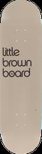 3d Skateboards - Brown Board Little Deck - 8.0 - Skateboard Deck