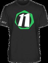 Abec 11 - Core 11 Ss S - Black - Skateboard Tshirt