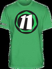 Abec 11 - Core 11 Ss S - Green - Skateboard Tshirt