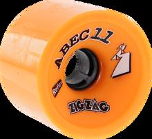 Abec 11 - Zigzags 66mm 86a Orange - (Set of Four) Skateboard Wheels