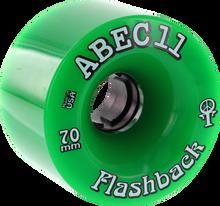 Abec 11 - Flashbacks 70mm 78a Green - (Set of Four) Skateboard Wheels