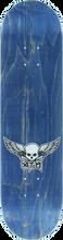 Atm - Mini Wings Deck - 8.0 Blue Ppp - Skateboard Deck