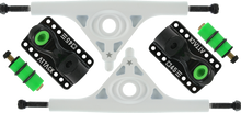 Attack Trucks - Black Star Rkp 180mm / 45° Wht / Blk - (Pair) Skateboard Trucks