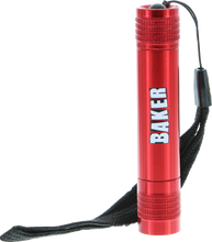 Baker - Brand Logo Mini Flashlight Red
