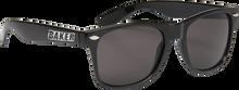 Baker - Brand Logo Sunglasses Blk / Wht