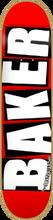 Baker - Brand Logo Deck - 7.56 Red / Wht - Skateboard Deck