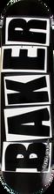 Baker - Brand Logo Deck - 8.25 Blk / Wht - Skateboard Deck