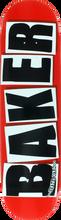 Baker - Brand Logo Deck - 8.38 Red / Black - Skateboard Deck