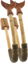 Beatnick - Rattan W / Whale Ends Surfboard Wall Rack - Surfboard Rack