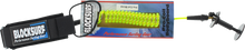 Block Surf - Surf Pro Coiled Bicept Grn Bodyboard Leash - Surfboard Leash