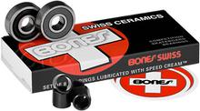 Bones Bearings - Swiss Ceramic (single Set) Bearings - Skateboard Bearings