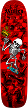Bones Brigade - Brigade Mullen Chess Deck - 7.4x27.62 Red - Skateboard Deck