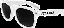 Bones Wheels - Vato Rat Text Sunglasses White