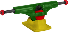 Bullet - 140mm Rasta Grn / Yel Truck Ppp - (Pair) Skateboard Trucks