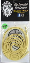 "Bulletproof Kevlar Laces - Kevlar Shoe Laces 45"" Gold Single Set"