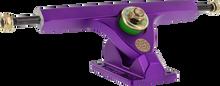 "Cal Trucks - Ii Fifty 10"" / 50° Satin Purple - (Pair) Skateboard Trucks"