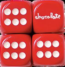 Chocolate - Custom Chunk Rolling Dice Set
