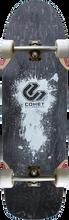 """Comet - Shred 33"""" Complete - 9.5x33 Black - Complete Skateboard"""
