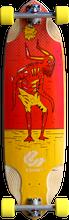 """Comet - Voodoo D2 36"""" Red / Yel Complete - 10.25x36 - Complete Skateboard"""