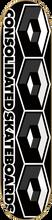 Consolidated - 4 Cube Deck - 8.0 Blk / Grey - Skateboard Deck