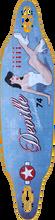 Deville - Lucky Lady Ii Dt Deck - 9.25x37.5 / 31.1wb - Skateboard Deck