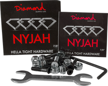 "Diamond - Nyjah Huston 7 / 8"" Allen Hardware 1set"